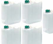 35 Ltr Water Container + Tap (Pack of 5)